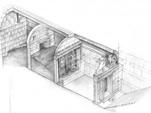 Amphipolis dig fully uncovers the pedestals of the Caryatids